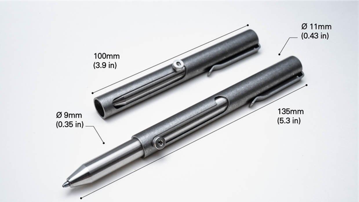 Jet Telescoping Bolt Action Pen