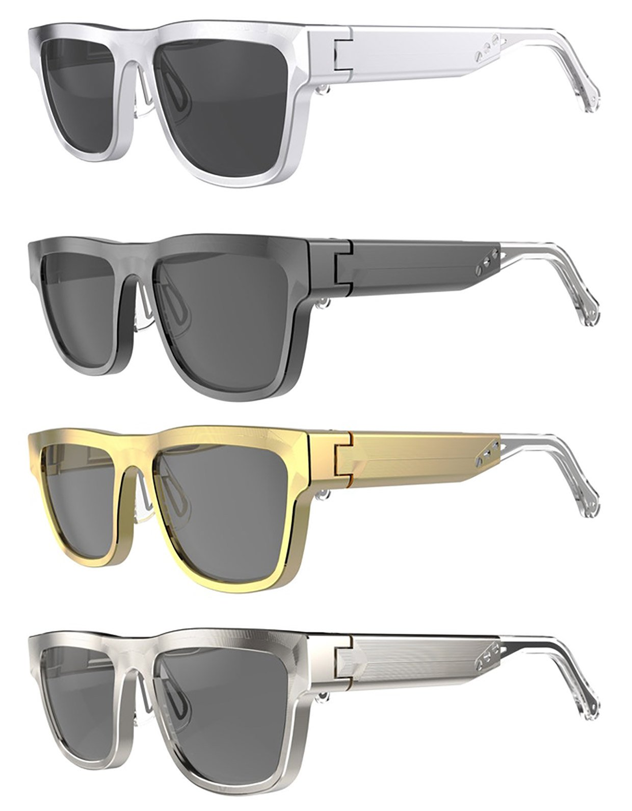 Kingsland Aluminum Eyeglass Frames