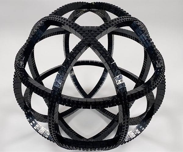 Bending a LEGO Sphere