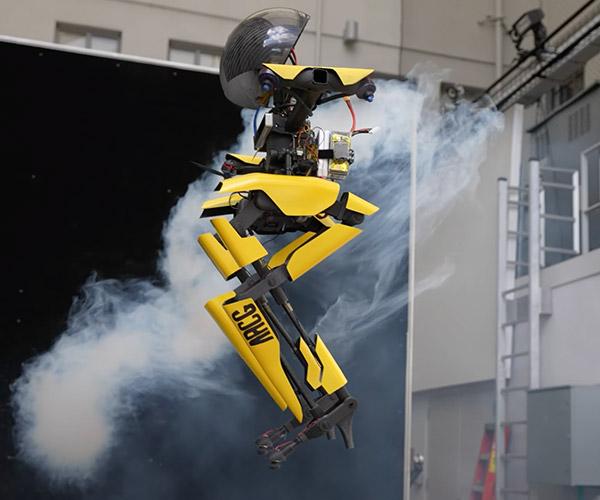 Walking + Flying Robot