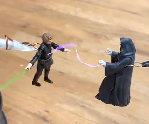 Luke vs. Palpatine Tesla Coil Battle