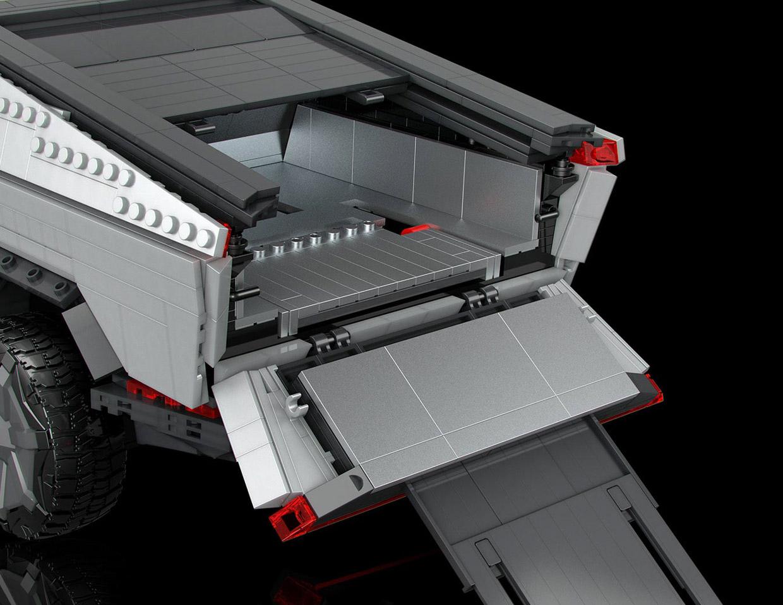 Mattel MEGA X Tesla Cybertruck