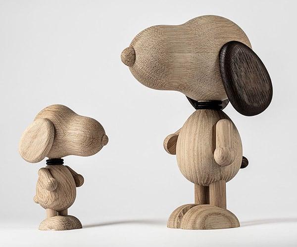 Mr. B'Eagle Wooden Dog Sculptures
