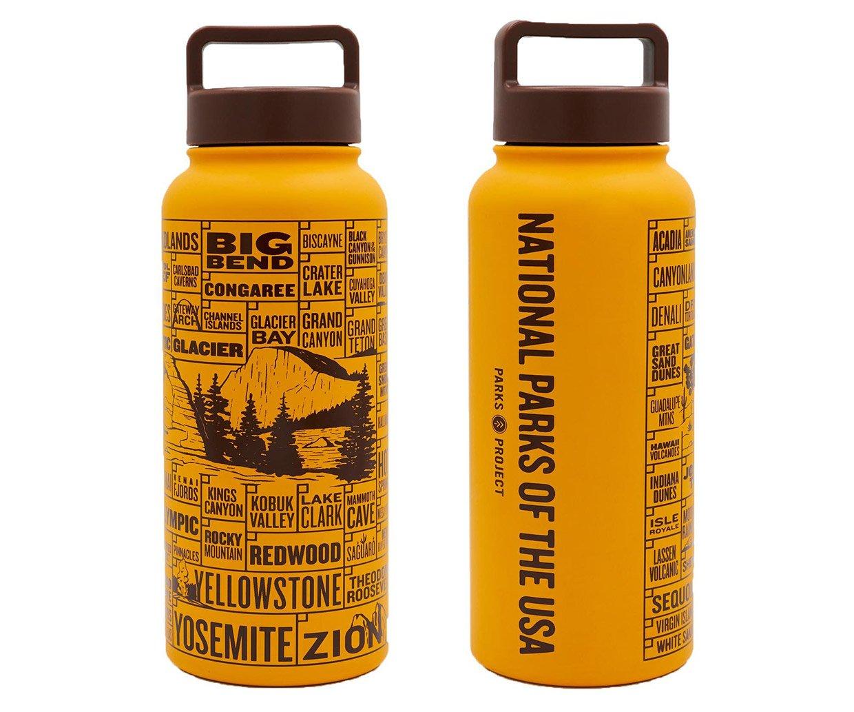 National Parks Checklist Water Bottle