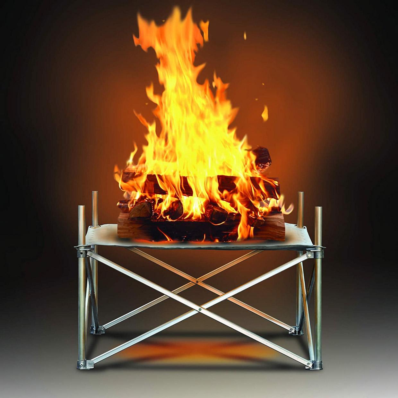 Mesh Pop-up Fire Pit