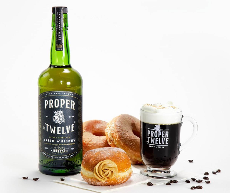 Proper No 12 Irish Whisky-Infused Donuts