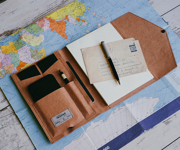 Recycled Paper Organizer
