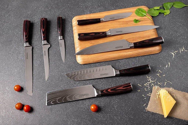 Seido Japanese Master Chef Knife Set