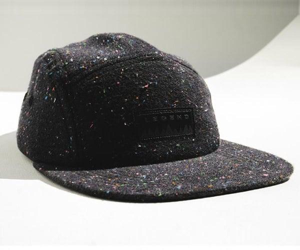 Shetland Flannel Confetti Camper Hat