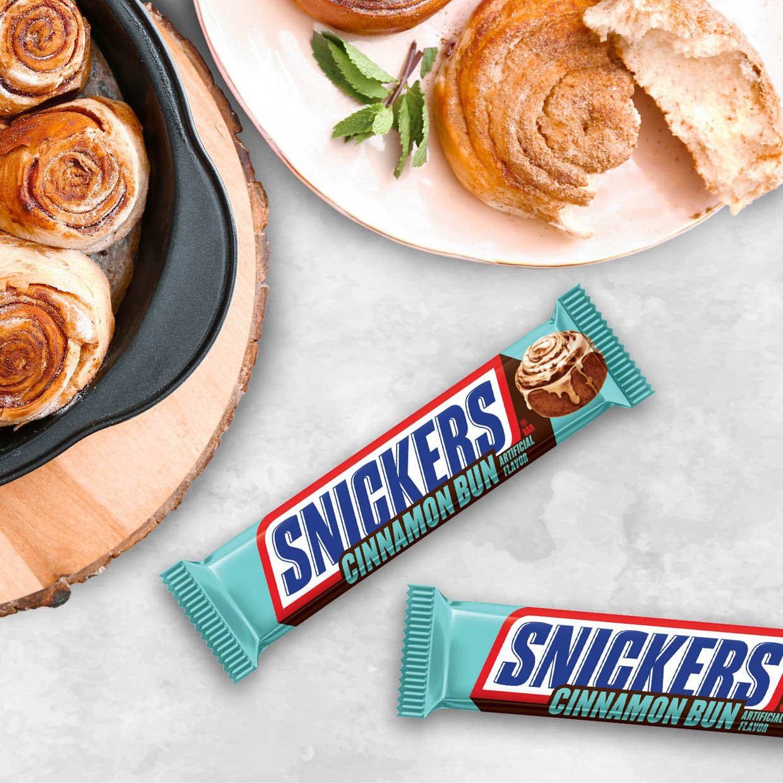 Cinnamon Bun Snickers
