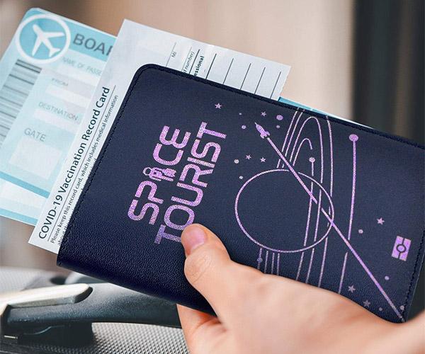 Space Tourist Passport Holder
