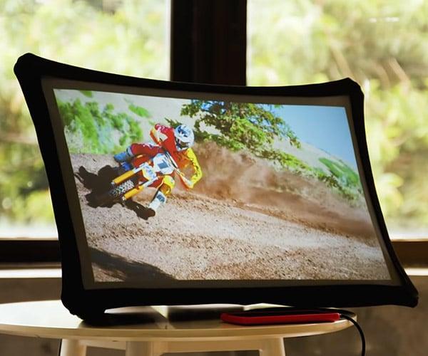 Splay Folding Display