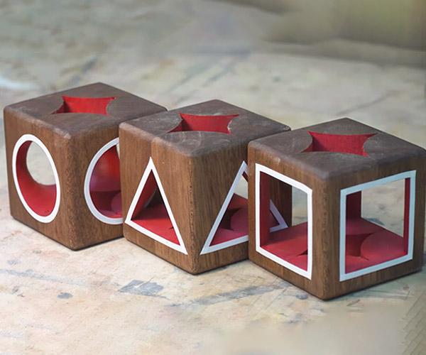 Squid Game Symbol Woodturning