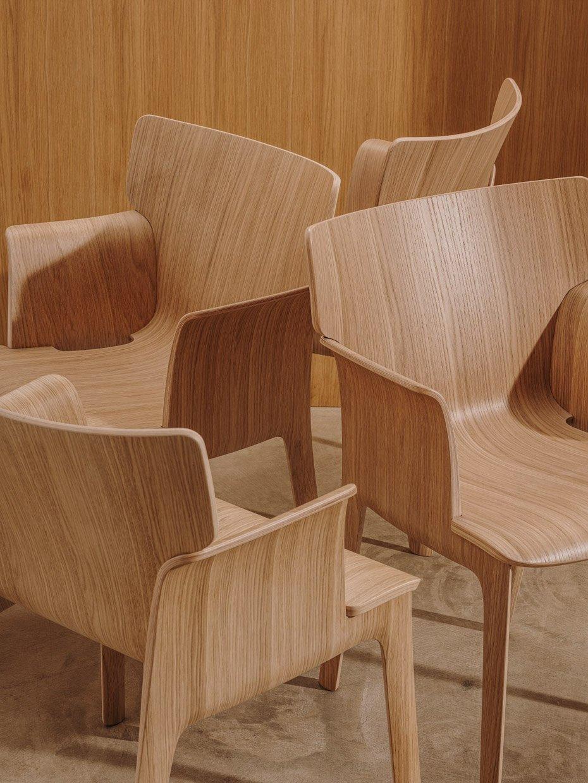 Andreu World x Philippe Starck Adela Rex Armchair