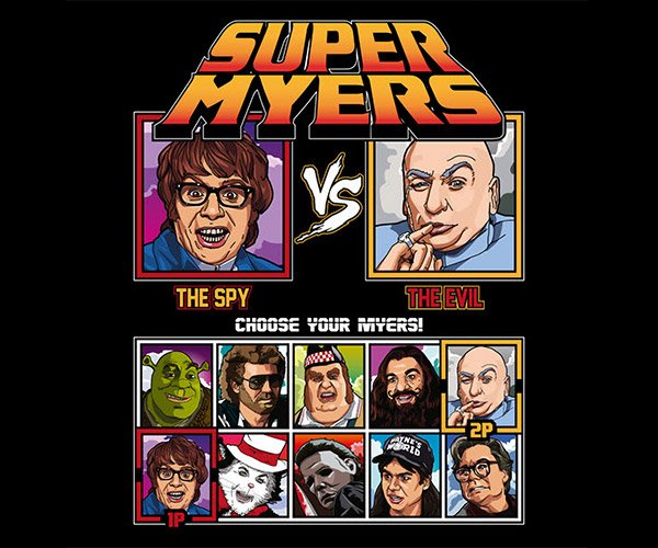 Super Myers T-Shirt