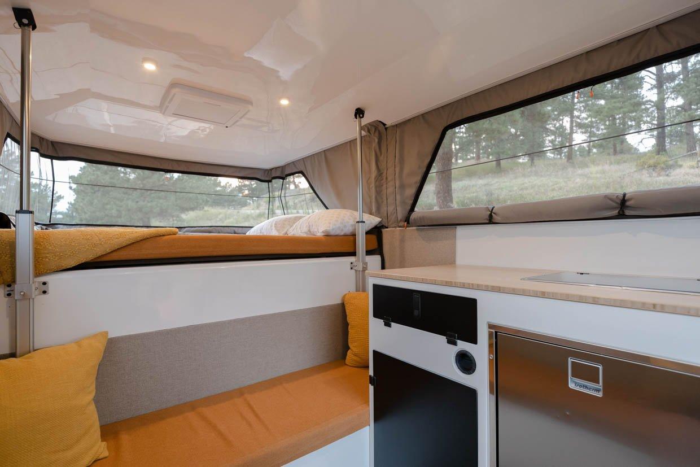 Supertramp Flagship LT Fiberglass Camper