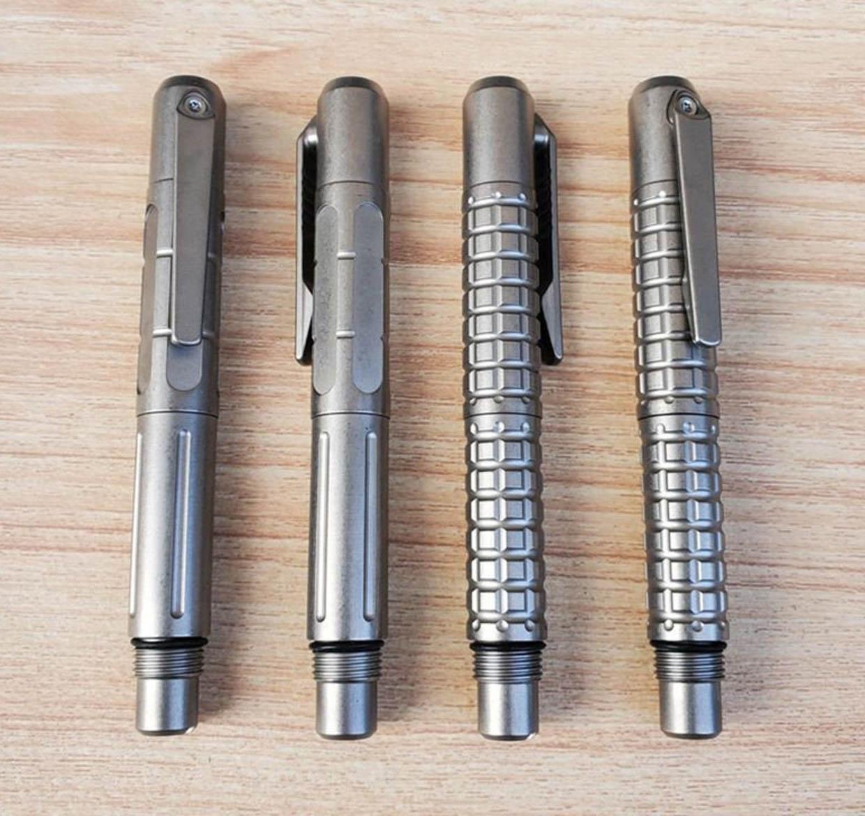 Tactile Titanium Pens