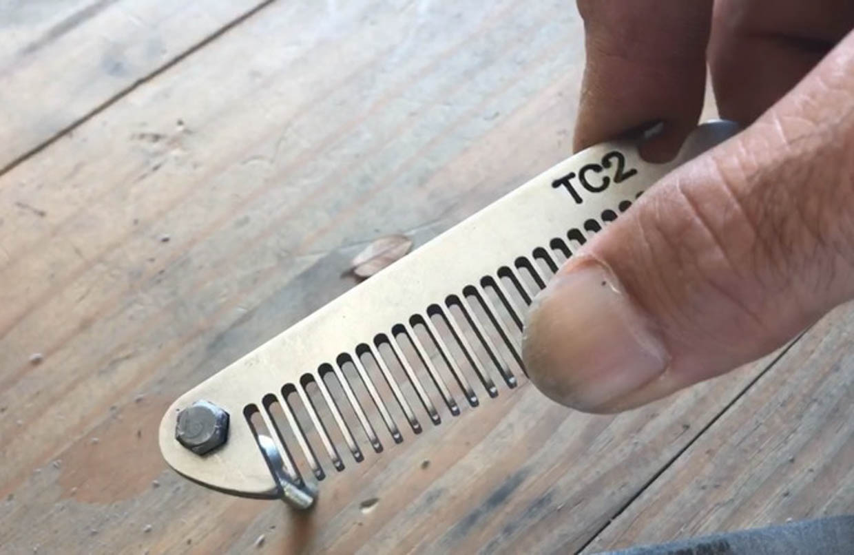 Ti-COMB2 Titanium Comb Multitool