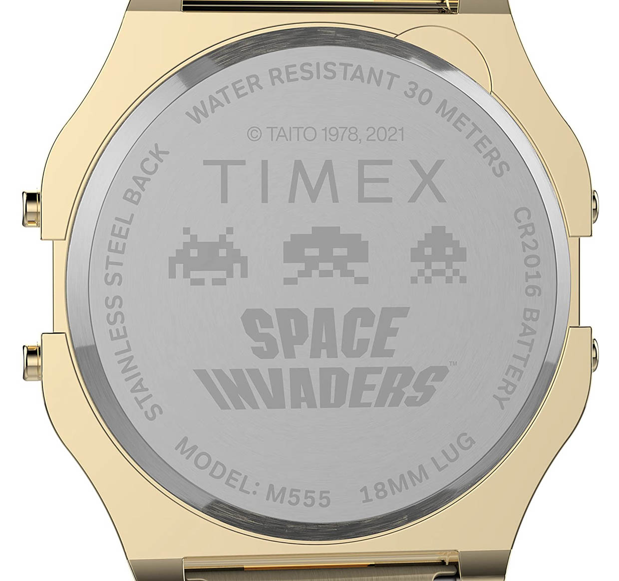 Timex T80 x Space Invaders Watches