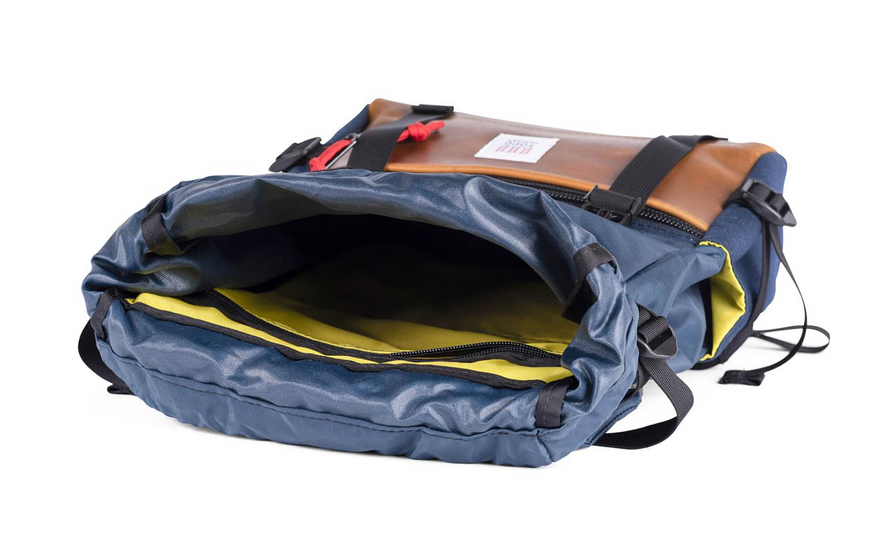 Topo Designs Rover Leather Backpack