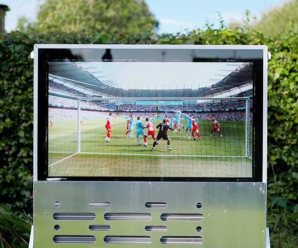DIY Ultra-Bright Outdoor TV